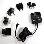 Iridium 9505A/9555 AC Charger & International Plug Kit