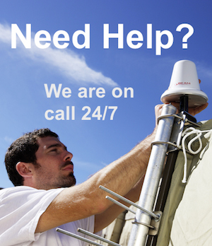 24-7 Technical Support is available on Iridium, Inmarsat BGAN, Inmarsat GSPS, and Globalstar satellite phones