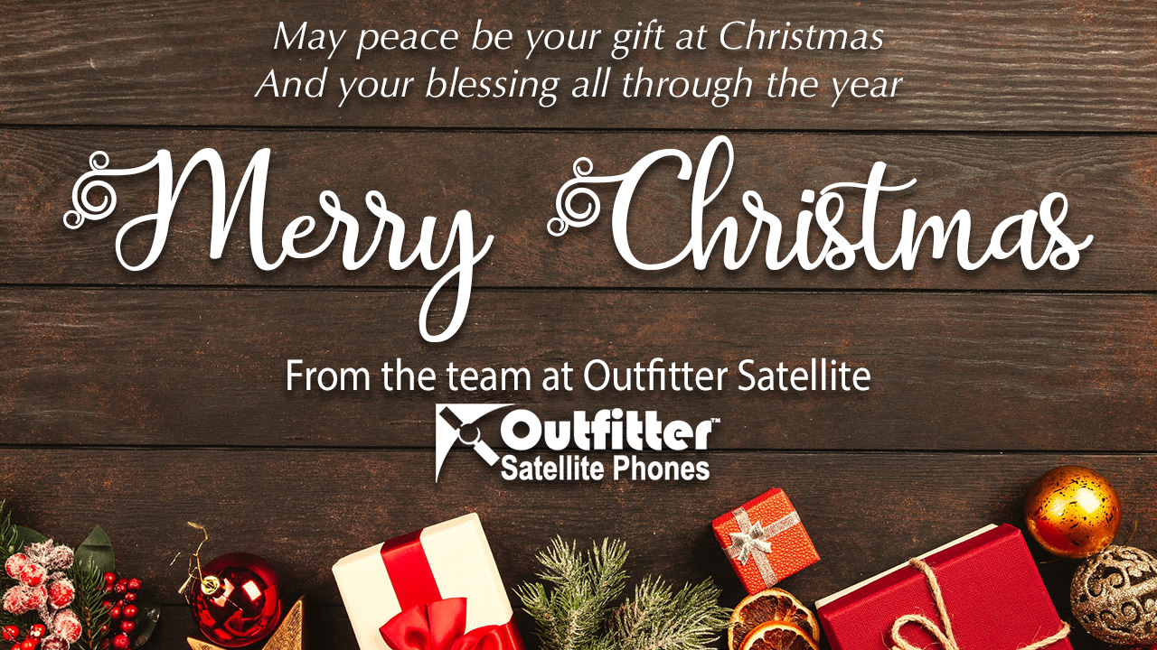 Merry Christmas & Wishes for a Prosperous New Year from Outfitter Satellite