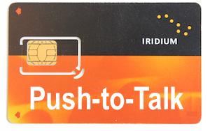 Iridium PTT SIM Card