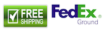 Free FEDEX GROUND Shipping