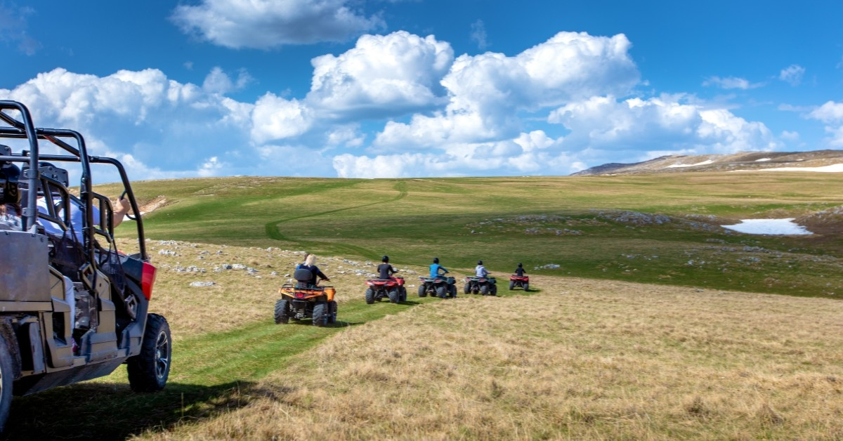 Top Activities in the United States to Do Where You'll Need a Satellite Phone: Riding ATVs