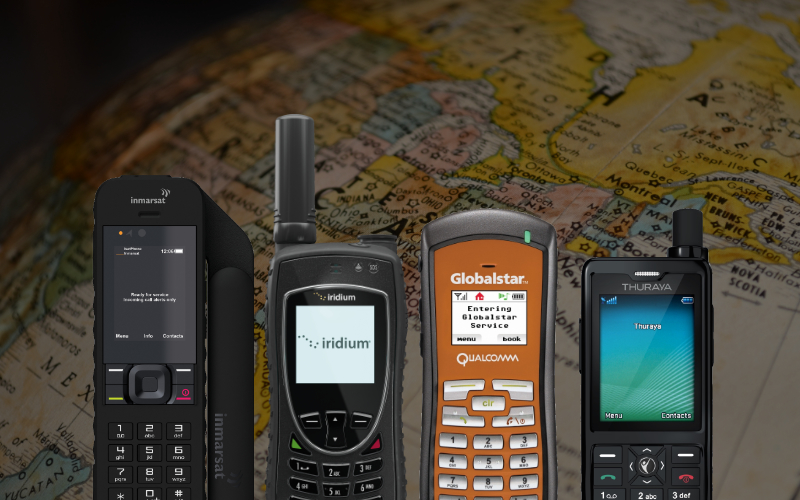 Satellite Phone Brand and Network Comparison
