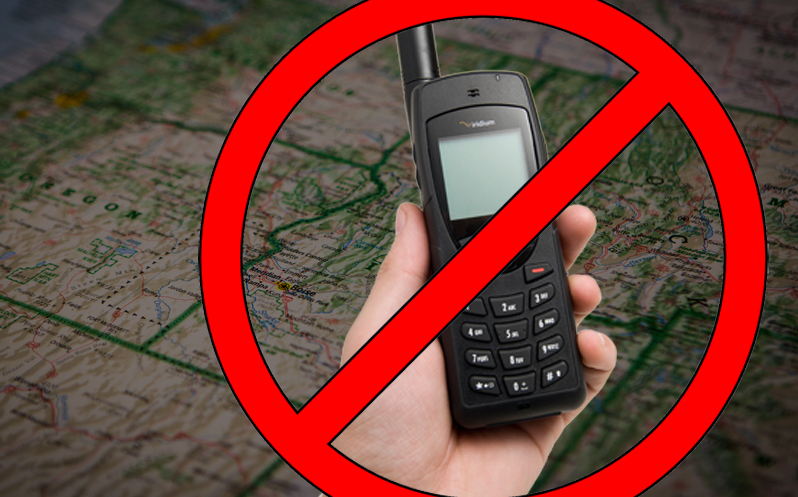 Countries with Satellite Phone Restrictions