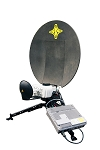 Used Hornet 65 Fly-away Inmarsat GX Terminal with 6-month warranty